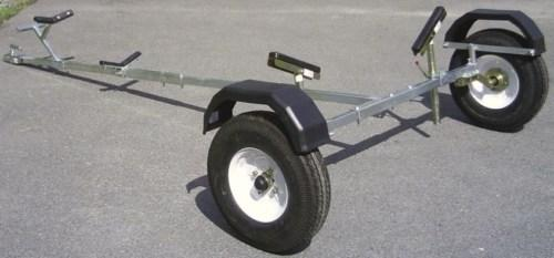 small boat dinghy trailer